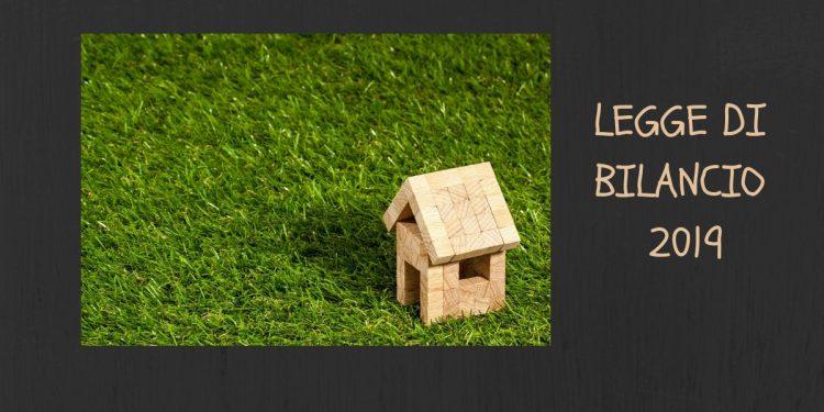 Immobiliare - Legge di bilancio 2019